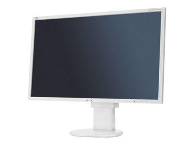 NEC MultiSync EA223WM 55,87cm 22Zoll TFT 16:10 1680x1050 analog+digital Hoehenverstellbar 1w+1w 1000:1 250cd 5ms weiss VESA