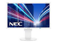 NEC Multisync EA234WMi 58,4cm 23Zoll eIPS W-LED 1920x1080 Display Port DVI-D VGA 250cd/m2 1000:1 Pivot Speakers USB weiss - Produktdetailbild 2