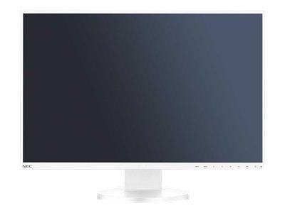NEC MultiSync EA245WMi 60,96cm 24Zoll LCD monitor mit LED backlight IPS panel 1920x1200 DVI-I DisplayPort HDMI weiss