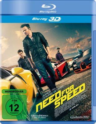 Need for Speed - 3D-Version, George Gatins, John Gatins, George Nolfi