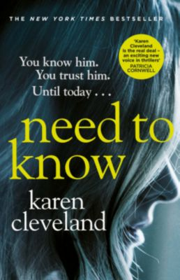 Need To Know, Karen Cleveland