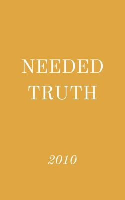 Needed Truth: Needed Truth 2010, Hayes Press