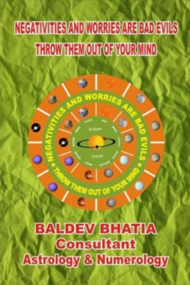 NEGATIVITIES AND WORRIES ARE BAD EVILS, Baldev Bhatia