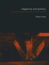 Negativity and Politics, Diana Coole