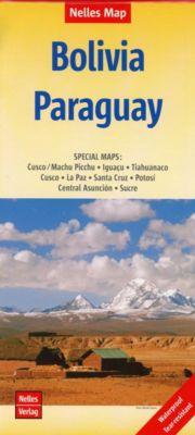 Nelles Map Bolivia-Paraguay