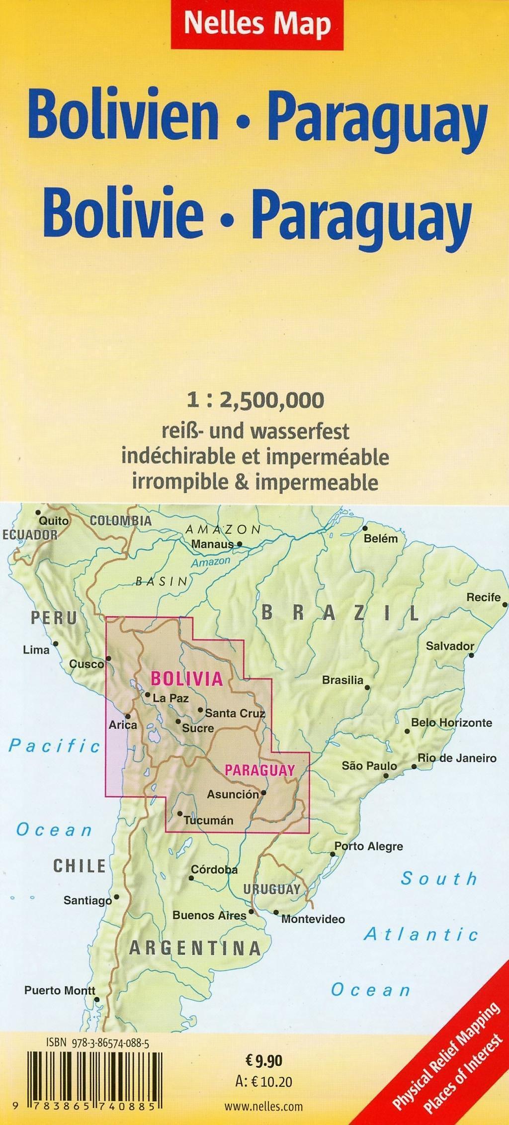 Nelles Map Bolivia-Paraguay Buch bei Weltbild.de online ...