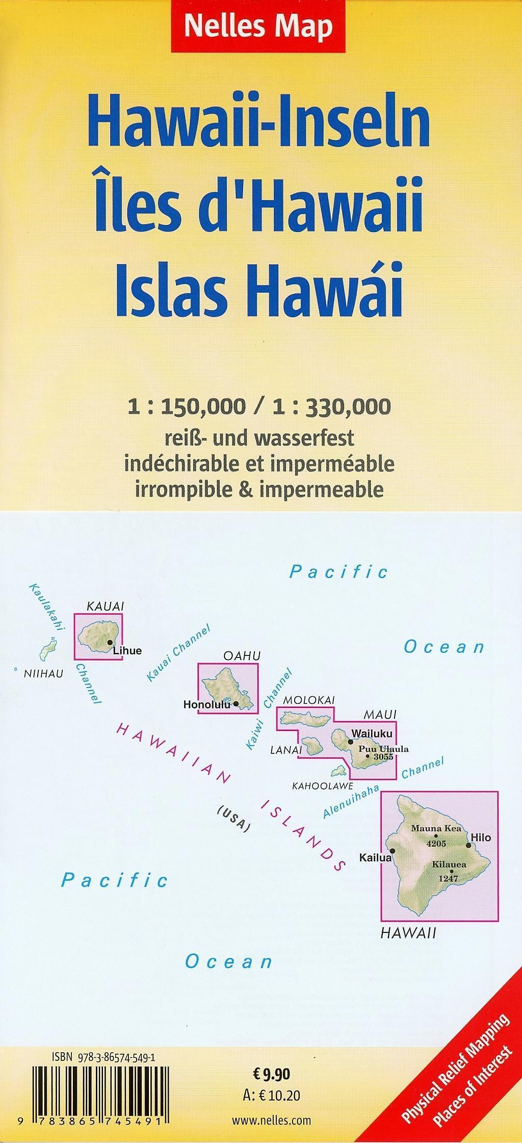 Nelles Map Hawaiian Islands Buch bei Weltbild.de online bestellen