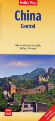 Nelles Map Landkarte China: Central