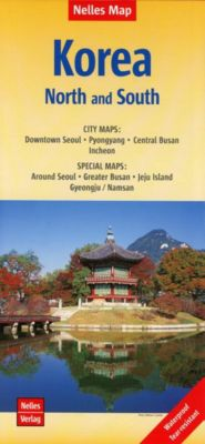 Nelles Map Landkarte Korea: North and South