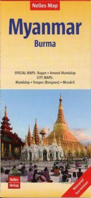 Nelles Map Landkarte Myanmar - Burma
