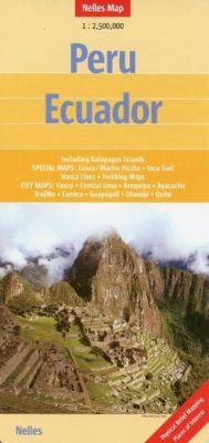 Nelles Map Peru, Ecuador