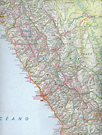 Nelles Map Peru, Ecuador - Produktdetailbild 1