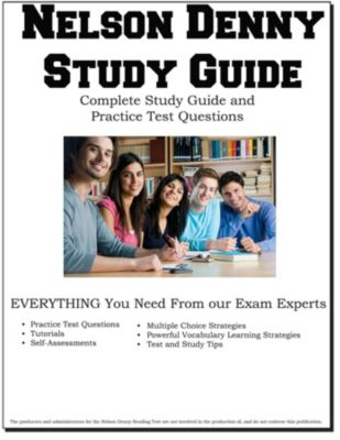 Nelson Denny Study Guide - Complete Study Guide and Practice Test Questions, Complete Test Preparation Inc.