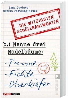Nenne drei Nadelbäume: Tanne, Fichte, Oberkiefer, Lena Greiner, Carola Padtberg-Kruse