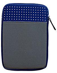 Neoprentasche mit Eule (Farbe: blau) - Produktdetailbild 1