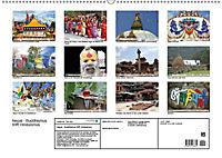 Nepal - Buddhismus trifft Hinduismus (Wandkalender 2019 DIN A2 quer) - Produktdetailbild 13