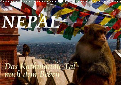 Nepal-Das Kathmandu-Tal nach dem Beben (Wandkalender 2019 DIN A3 quer), Frank BAUMERT