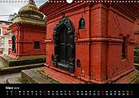 Nepal-Das Kathmandu-Tal nach dem Beben (Wandkalender 2019 DIN A3 quer) - Produktdetailbild 3