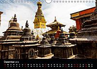 Nepal-Das Kathmandu-Tal nach dem Beben (Wandkalender 2019 DIN A4 quer) - Produktdetailbild 12