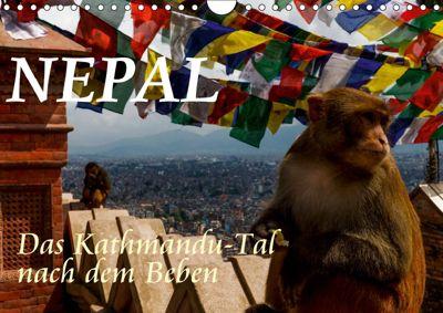 Nepal-Das Kathmandu-Tal nach dem Beben (Wandkalender 2019 DIN A4 quer), Frank BAUMERT
