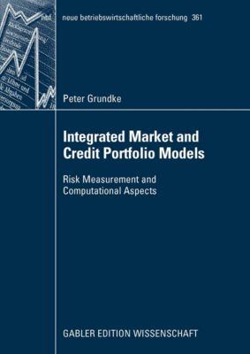 neue betriebswirtschaftliche forschung (nbf): Integrated Market and Credit Portfolio Models, Peter Grundke
