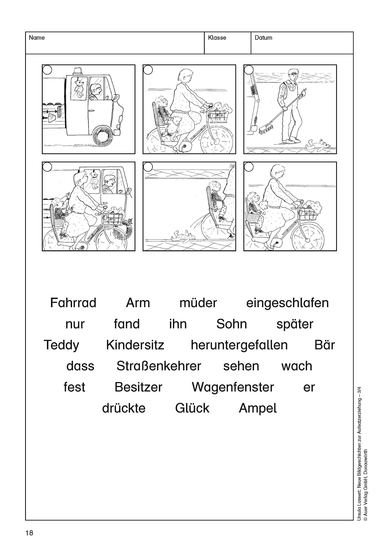 Neue Bildgeschichten zur Aufsatzerziehung: Jahrgangsstufen ...