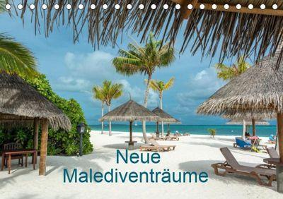 Neue Malediventräume (Tischkalender 2019 DIN A5 quer), Dietmar Blome