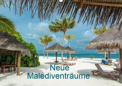 Neue Malediventräume (Wandkalender 2019 DIN A2 quer), Dietmar Blome