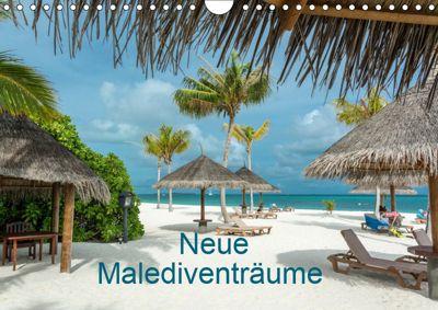 Neue Malediventräume (Wandkalender 2019 DIN A4 quer), Dietmar Blome