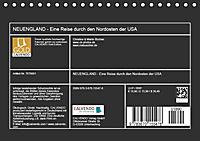 NEUENGLAND - Eine Reise durch den Nordosten der USA (Tischkalender 2019 DIN A5 quer) - Produktdetailbild 13