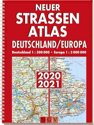 Neuer Straßenatlas Deutschland/Europa 2020/2021 -  pdf epub