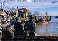 Neuharlingersiel - Ostfrieslands schönstes Hafenstädtchen (Wandkalender 2019 DIN A4 quer) - Produktdetailbild 1
