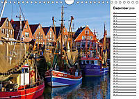 Neuharlingersiel - Ostfrieslands schönstes Hafenstädtchen (Wandkalender 2019 DIN A4 quer) - Produktdetailbild 12