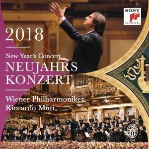 Neujahrskonzert 2018, Riccardo Muti, Wiener Philharmoniker