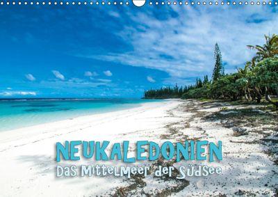 Neukaledonien - Das Mittelmeer der Südsee (Wandkalender 2019 DIN A3 quer), Günter Zöhrer