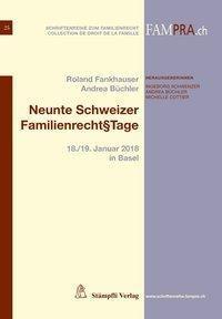 Neunte Schweizer Familienrecht§tage