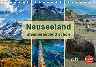 Neuseeland - atemberaubend schön (Tischkalender 2019 DIN A5 quer), Peter Roder