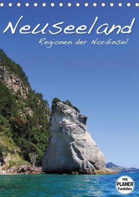 Neuseeland - Regionen der Nordinsel (Tischkalender 2019 DIN A5 hoch), Jana Thiem-Eberitsch