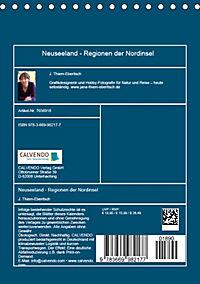 Neuseeland - Regionen der Nordinsel (Tischkalender 2019 DIN A5 hoch) - Produktdetailbild 13