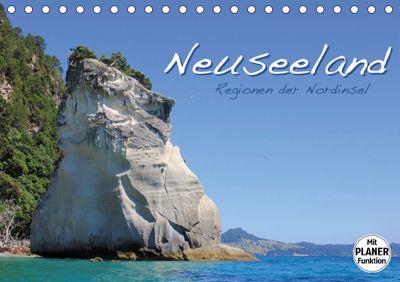 Neuseeland - Regionen der Nordinsel (Tischkalender 2019 DIN A5 quer), Jana Thiem-Eberitsch
