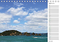 Neuseeland - Regionen der Nordinsel (Tischkalender 2019 DIN A5 quer) - Produktdetailbild 4