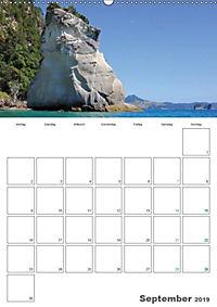 Neuseeland - Regionen der Nordinsel (Wandkalender 2019 DIN A2 hoch) - Produktdetailbild 2