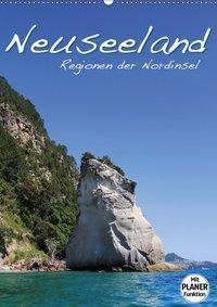 Neuseeland - Regionen der Nordinsel (Wandkalender 2019 DIN A2 hoch), Jana Thiem-Eberitsch