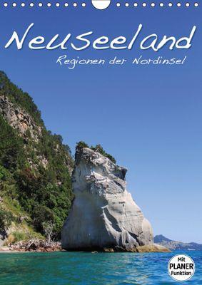 Neuseeland - Regionen der Nordinsel (Wandkalender 2019 DIN A4 hoch), Jana Thiem-Eberitsch