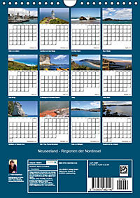 Neuseeland - Regionen der Nordinsel (Wandkalender 2019 DIN A4 hoch) - Produktdetailbild 13