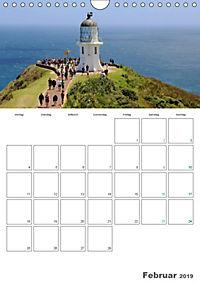 Neuseeland - Regionen der Nordinsel (Wandkalender 2019 DIN A4 hoch) - Produktdetailbild 2