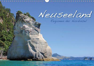 Neuseeland - Regionen der Nordinsel (Wandkalender 2019 DIN A3 quer), Jana Thiem-Eberitsch