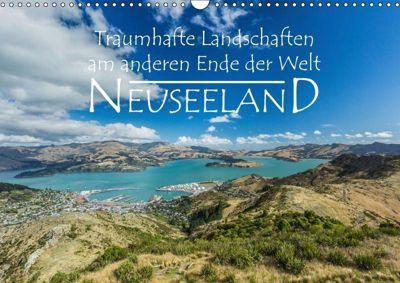Neuseeland - Traumhafte Landschaften am anderen Ende der Welt (Wandkalender 2019 DIN A3 quer), Werner Moller