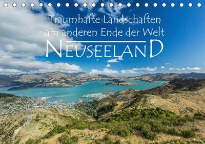Neuseeland - Traumhafte Landschaften am anderen Ende der Welt (Tischkalender 2019 DIN A5 quer), Werner Moller