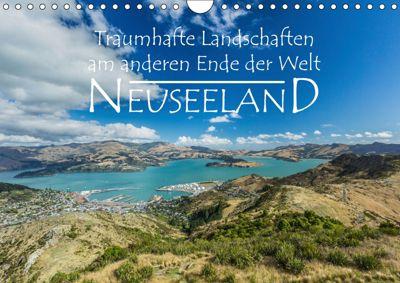 Neuseeland - Traumhafte Landschaften am anderen Ende der Welt (Wandkalender 2019 DIN A4 quer), Werner Moller